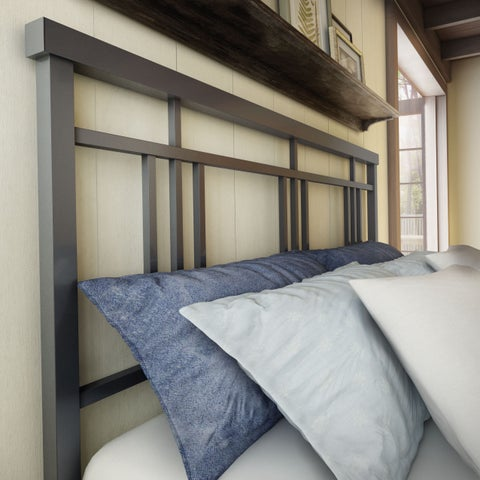 Amisco Cottage 54-inch Full-size Metal Headboard