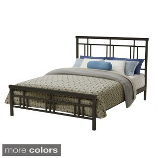 Amisco 60-inch Queen Size Metal Cottage Bed