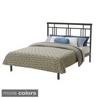 Amisco Cottage 54-inch Full-size Metal Platform Bed  - Full