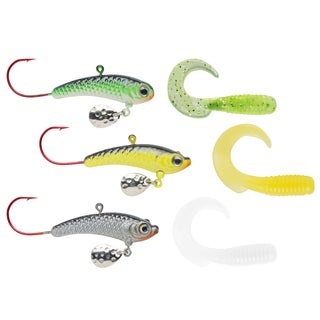 Celsius Ice Fishing Feeding Flash Jig Kit
