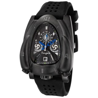 Link to Rougois Men's Shadow Rocket Black Strap Watch Similar Items in Men's Watches