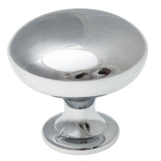 GlideRite 1.125-inch Classic Polished Chrome Round Cabinet Knobs (Pack of 25)