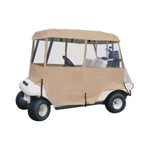 Classic Accessories Fairway 2-Person DLX 4-Sided Golf Cart Enclosure