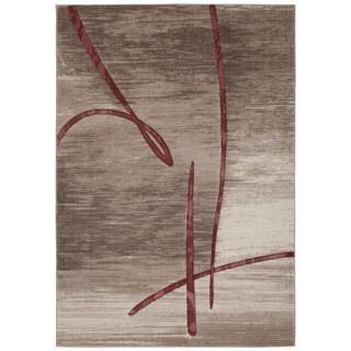 Rug Squared Calistoga Beige Rug (5'3 x 7'4)