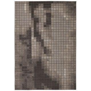 Rug Squared Calistoga Grey Rug (9'3 x 12'9)