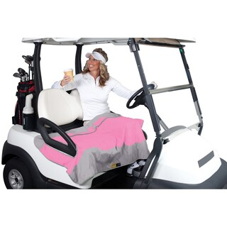 Classic Accessories Fairway Golf Cart Seat Blanket (Option: Perfect Pink)