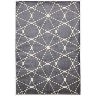 Rug Squared Carlsbad Grey Rug (2'2 x 7'3)