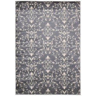 Rug Squared Carlsbad Grey Rug (3'11 x 5'3)