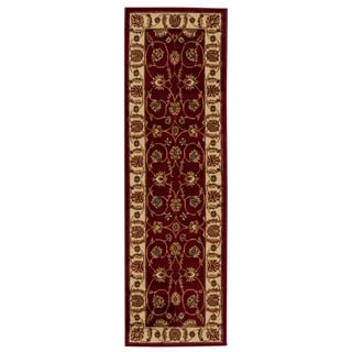 Rug Squared Mariposa Red Rug (2'2 x 7'3)