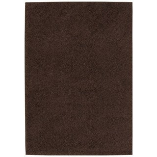 Rug Squared Woodstock Brown Shag Rug (3'2 x 5')