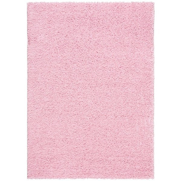 Rug Squared Woodstock Light Pink Rug (8'2 x 10')