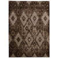 Rug Squared Lakewood Chocolate Rug - 7'10 x 10'6