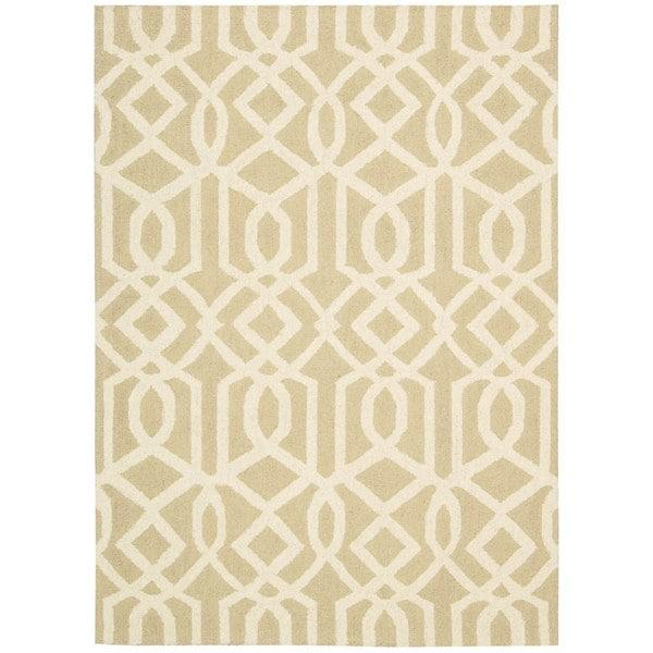 Rug Squared Laredo Sand/ Ivory Rug (8' x 11')