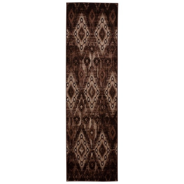 Rug Squared Lakewood Chocolate Rug (2'2 x 7'6)