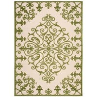 Rug Squared Kona Indoor/Outdoor Green Rug - 7'10 x 10'6