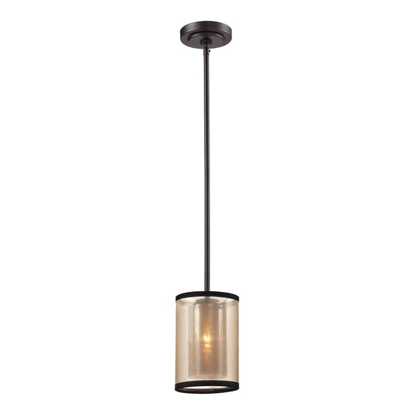 Elk Lighting Diffusion Oil Rubbed Bronze 1 Light Pendant Free Shipping Toda