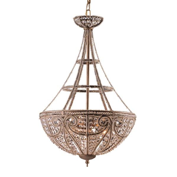 Elizabethan Dark Bronze 4-light Pendant