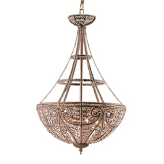 Elizabethan Dark Bronze 4-light Pendant