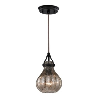 Elk Lighting Danica 1-light Round Mini Pendant in Oil Rubbed Bronze