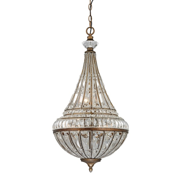 Elk Lighting Empire 6-light Pendant in Mocha