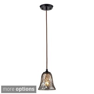 Elk Lighting Darien 1-light Bronze Pendant