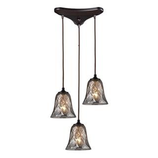 Elk Lighting Darien 3-light Oil Bronze Pendant