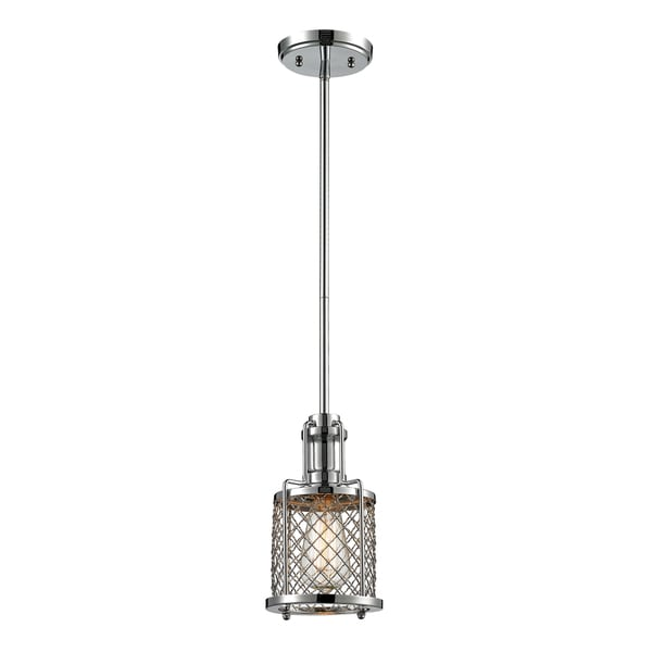 Elk Lighting Briane 1-light Mini Pendant in Polished Chrome