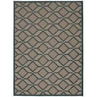 Rug Squared Kona Indoor/Outdoor Blue Rug (7'10 x 10'6)