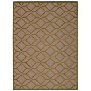 Rug Squared Kona Indoor/Outdoor Green Rug (3'6 x 5'6)