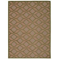 Rug Squared Kona Indoor/Outdoor Green Rug (7'10 x 10'6) - 7'10 X 10'6