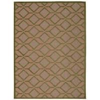 Rug Squared Kona Indoor/Outdoor Green Rug (7'10 x 10'6) - 7'10 x 10'6