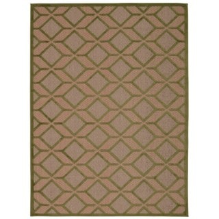 Rug Squared Kona Indoor/Outdoor Green Rug (9'6 x 13')