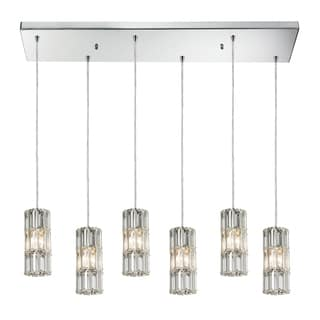 Elk Lighting Cynthia 6-light Polished Chrome Chandelier