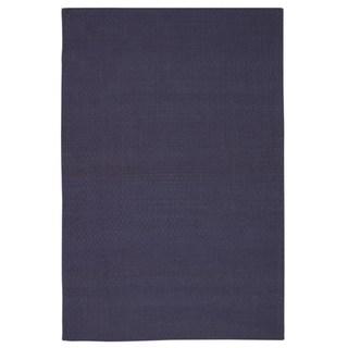 Rug Squared Georgetown Purple Rug (5' x 7')