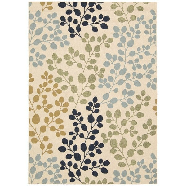Rug Squared Jupiter Indoor/Outdoor Ivory Rug - 7'10 x 10'6