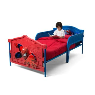 Spider-Man 3D Twin Bed|https://ak1.ostkcdn.com/images/products/9567392/P16753684.jpg?impolicy=medium