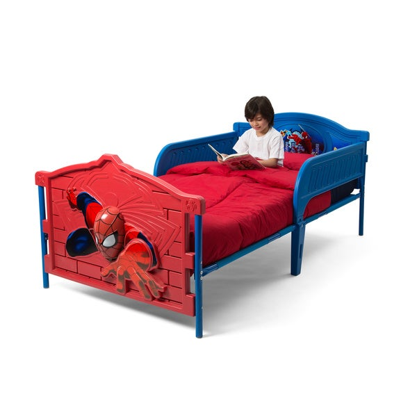 Spider Man 3d Twin Bed Free Shipping Today Overstock