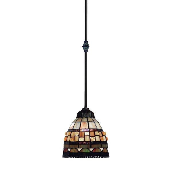 Elk Lighting Andalusia: Shop Elk Lighting Jewelstone 1-light Pendant In Classic