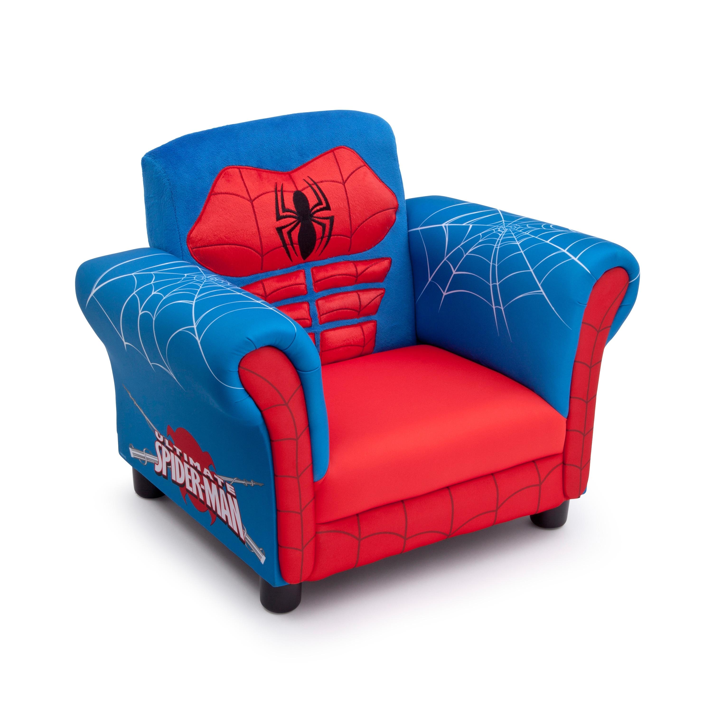 Delta Children Spider-Man Chair, Blue (Wood)