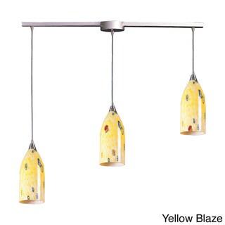 Elk Lighting Verona 3-light Satin Nickel Linear Pendant