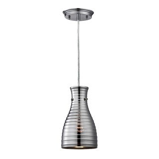 Elk Lighting Strata Polished Chrome 1-light Mini Pendant