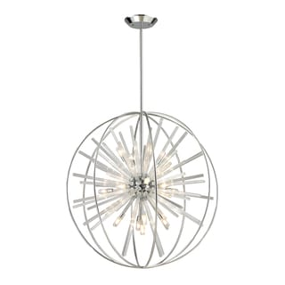 Elk Lighting Twilight Polished Chrome Starburst 15-Light Pendant