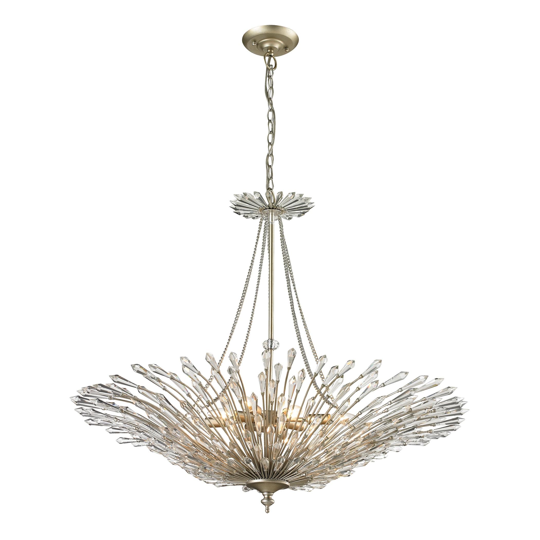 Elk Lighting Viva' 8-Light Aged Silver Pendant (Viva Ligh...