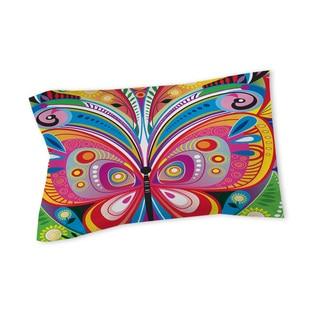 Pattern Butterfly Sham