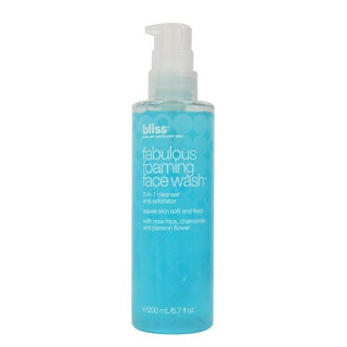 Bliss Fabulous Foaming 6.7-ounce Face Wash