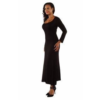 2fae8913bfe Quick View. Option 14239443. Option 14239448. Option 14239441. Was  28.49.   4.27 OFF. Sale  24.22. 24 7 Comfort Apparel Women s Long Sleeve Maxi Dress