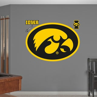 Fathead Iowa Hawkeyes Logo Wall Decals