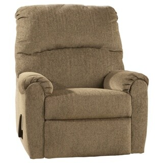 Signature Designs by Ashley 'Pranit' Beige Cork-tone Zero Wall Recliner