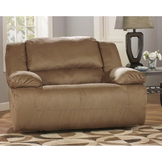 Signature Design by Ashley 'Hogan' Mocha Borwn Zero Wall Wide Seat Recliner