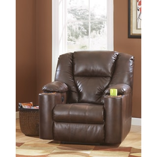 Signature Designs by Ashley 'Paramount' Brown DuraBlend Brindle Zero Wall Recliner